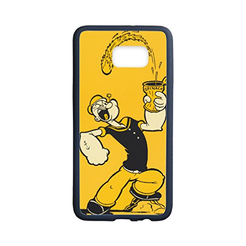 [Libby Baldwin New fashion custom Popeye the Sailor Man Cartoons hight quality Laser Technology TPU & Plastic Samsung Galaxy S6 Edge Plus] (Popeye Costumes)
