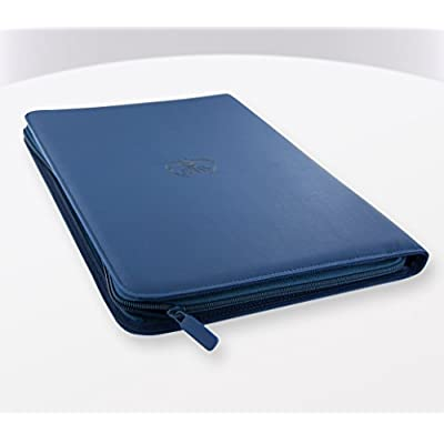 Ultimate Guard 9 Pocket XenoSkin Zipfolio, Blue: Toys & Games