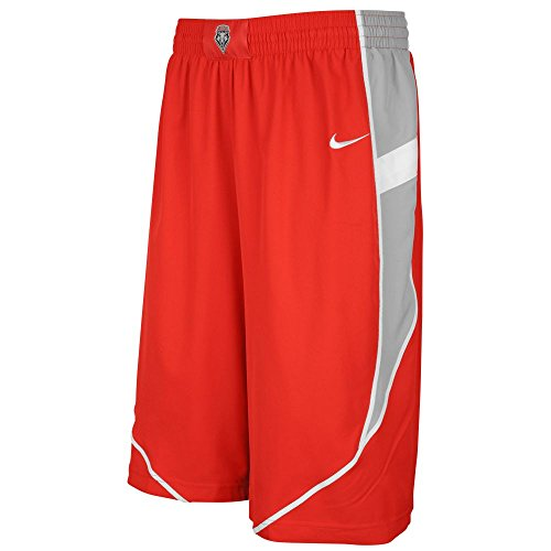 New Mexico Lobos Nike Dri-Fit Woven Twill Player Shorts (Large) (Twill Player)