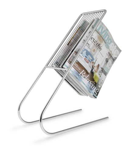 Float Magazine Rack Organizer Modern