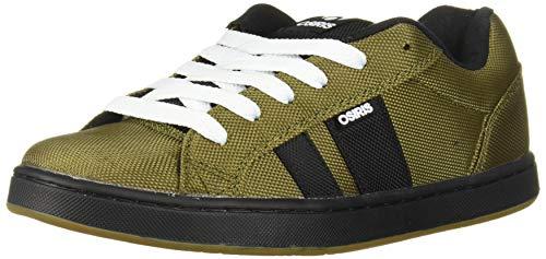 Osiris Men's Loot Skate Shoe, Olive/Dk. Gum, 13 M US (Best Looking Skate Shoes)
