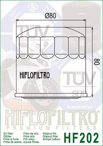 VF750 C V45 Magna 1982-1983 Oil Filter Genuine OE Quality HiFlo HF202