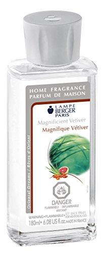 (Lampe Berger Fragrance Magnificent Vetiver,  180ml / 6.08 fl.oz.)