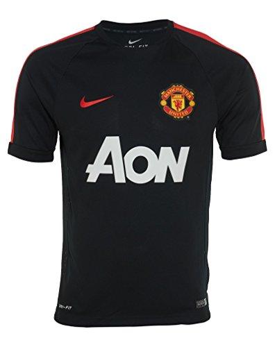 2014-15 Nike Mancheser United Black Training Jersey Medium