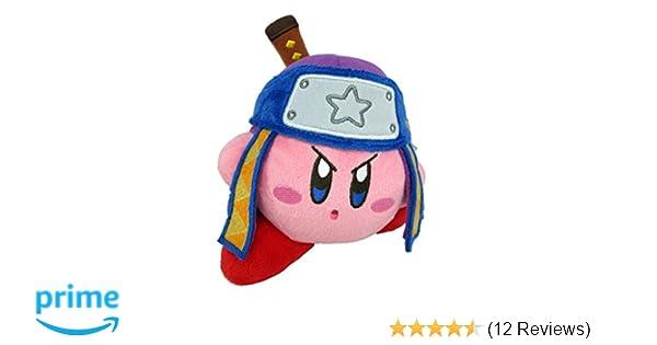 Little Buddy Kirbys Adventure All Star Collection Kirby Ninja Stuffed Plush, 5