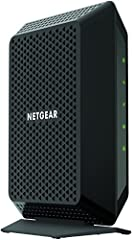 The NETGEAR CM700 High Speed Cable Modem provides a connection to high-speed cable Internet with speeds up to 1.4 Gbps. It is CableLabs certified DOCSIS 3.0 and provides up to 32 times faster than DOCSIS 2.0 devices. The Gigabit Ethernet port...