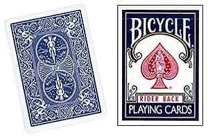 Baraja BICYCLE Standard - Dorso Azul (US Playing Card Company)