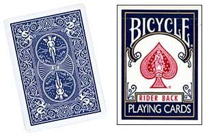 Baraja BICYCLE Standard - Dorso Azul (US Playing Card Company)
