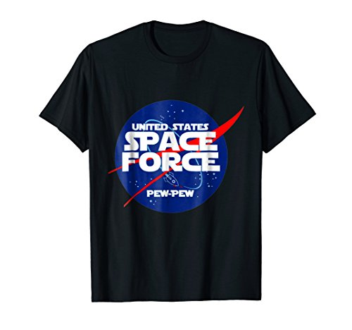 Funny United States Space Force Pew Pew Tshirt