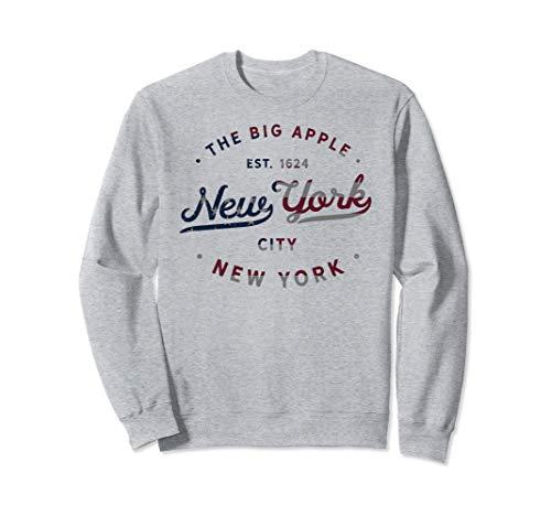 American Flag New York City Vintage NYC Gift Sweatshirt (York Sweatshirt City New)
