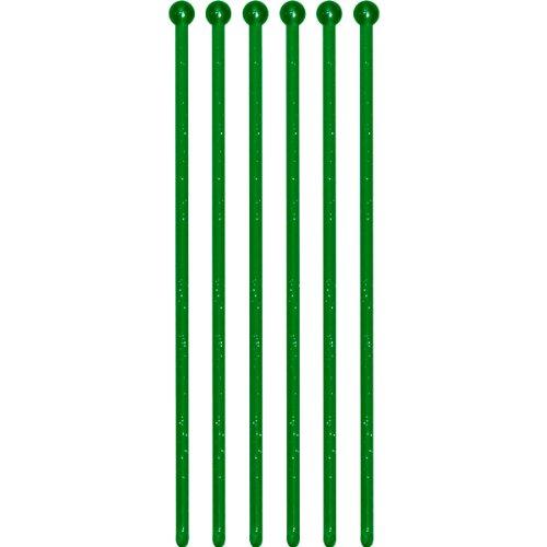 Glitz Green Glitter Drink Stirrers (24ct)