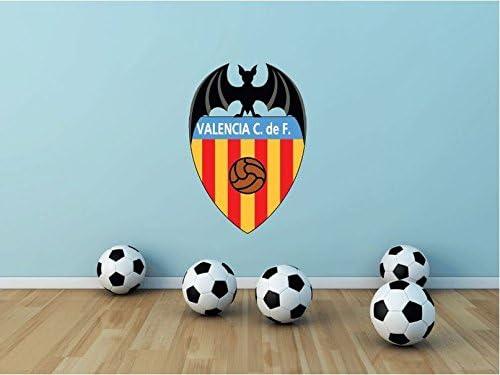 Valencia CF España fútbol deporte de pared decoración del hogar 63 x 43 cm de adhesivo de vinilo: Amazon.es: Hogar