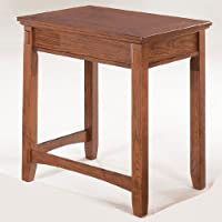 Medium Brown Home Office Corner Table by Ashley Furniture