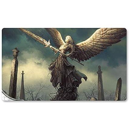 Alfombrilla de juego para juegos de mesa con diseño de ángel de la ...