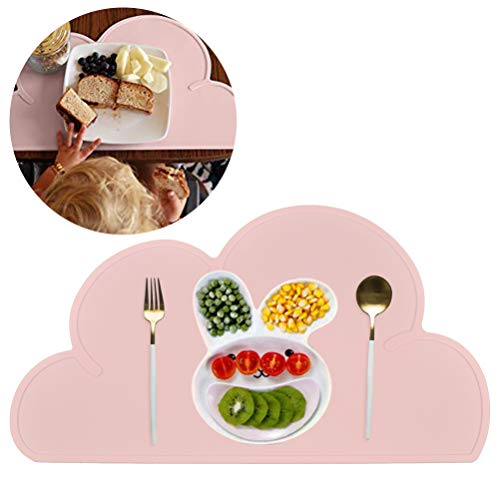 Kids Placemat Silicone Cloud