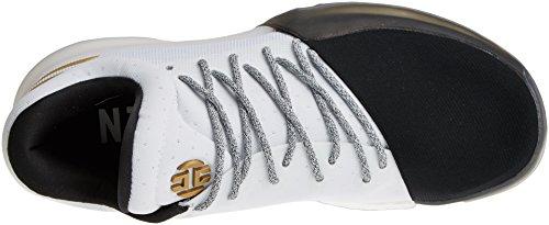 Hombre 1 Zapatillas Vol Baloncesto Harden adidas Blanco de para npwRS4EqW