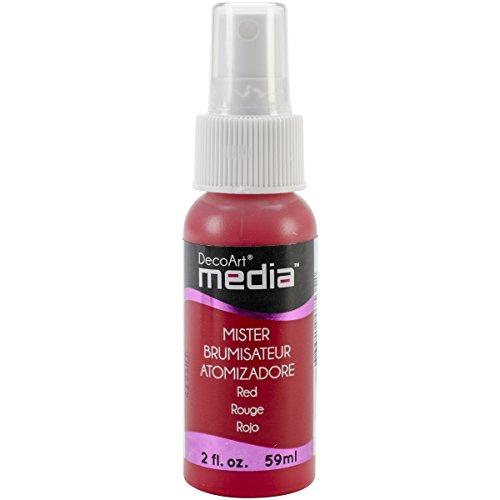 DecoArt Media Acrylic Mister, 2-Ounce, Red
