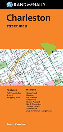 Folded Map: Charleston Street Map (Rand Mcnally)
