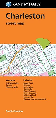 Folded Map: Charleston Street Map (Rand - Charleston Outlets