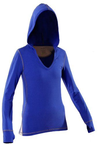 Women's Yoga Hoody (XL, Royal Blue) by KINISI(TM)