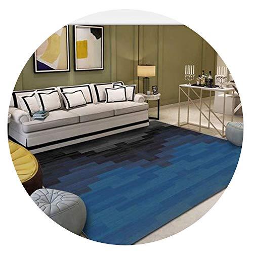 - Nordic Corridor of Geometrical Design 3D Printing Carpet Mats Anti-Skid Carpet Kitchen Bathroom Carpet Absorb The Moisture,9,1000mmx1600mm