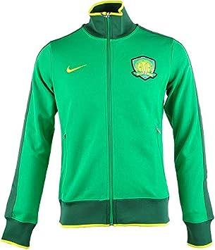 Nike - Chaqueta de chándal para Hombre, Color Verde - 546255 383 ...