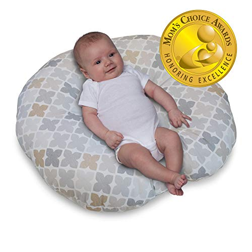 Best Price! Boppy Original Newborn Lounger, Gray Taupe Four Square