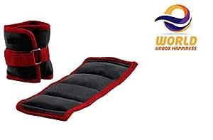 EWORLD® Health & Fitness 0.5 KG Children Adult Ankle Weights Exercise Fitness Comfort Leg Sandbag Wrist Weights