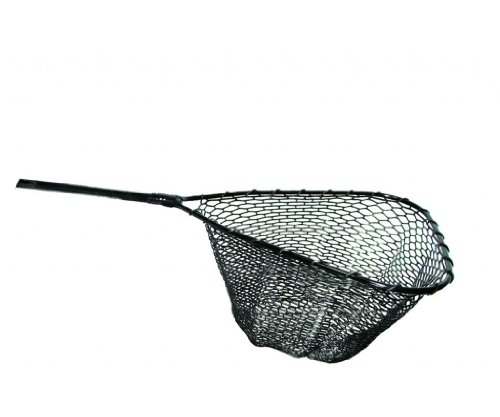 (Ranger 9800R Hook-Free and Tangle Free Molded Rubber Knotless Landing Net (48-Inch Octagonal Aluminum Handle, 28 x 30-Inch Hoop, 20-Inch Net Depth))