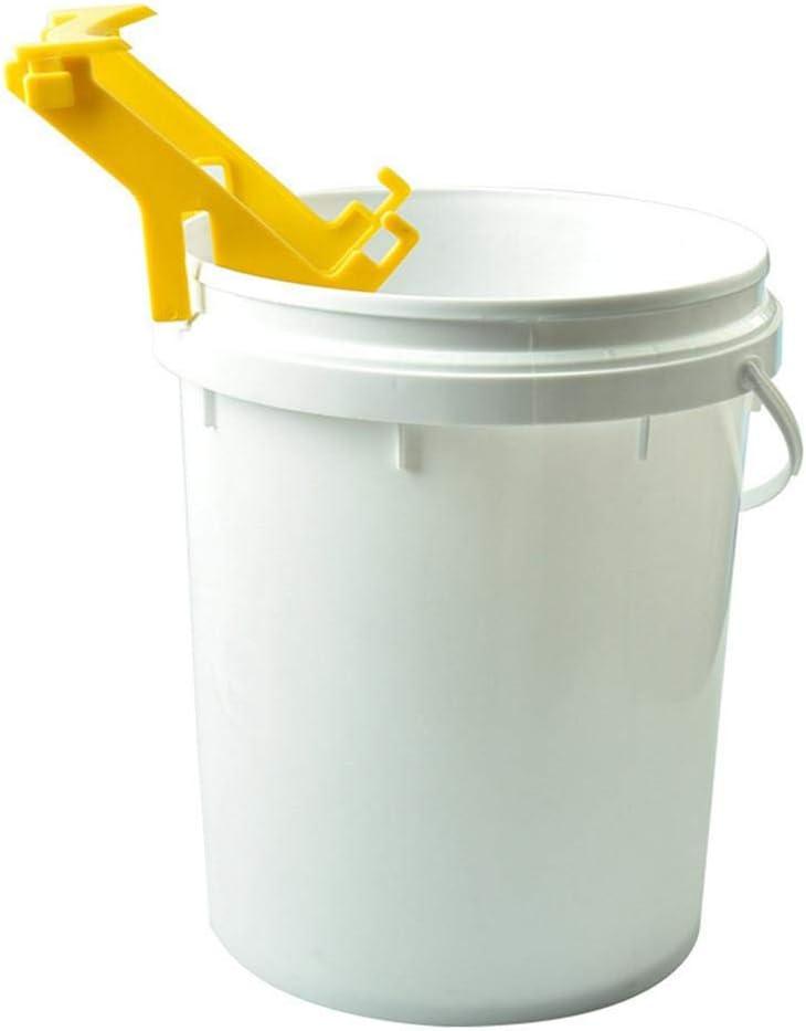 Imkerei Werkzeuge Honig Eimer St/änder Wovemster Honig-Eimerhalter Bienen Honig Gestellrahmen Aus Kunststoff