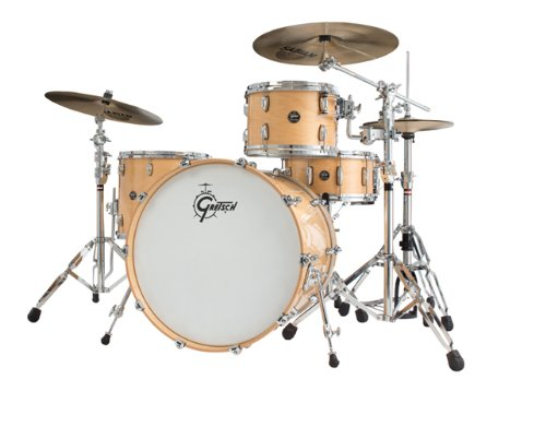Gretsch New Renown Maple 3-Piece Euro Drum Set Shell Pack - Gloss Natural
