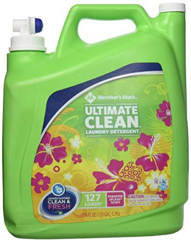 (Member's Mark Ultimate Clean Liquid Laundry, Paradise Splash (196 oz, 127 loads))