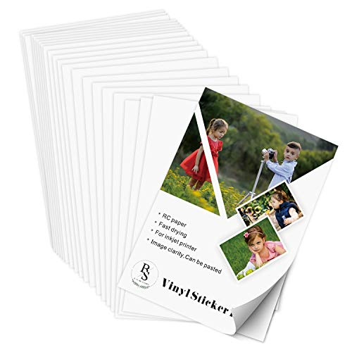 Permanent Vinyl Sticker Paper Photographic product image