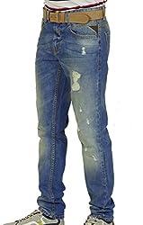 prime Men's Slim Fit Jeans BR-005 (BR-006, 38W X 30L)