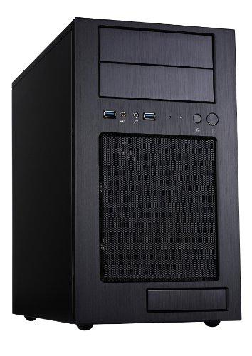 Silverstone SST-TJ08B-E Temjin Gehäuse (Midi-Tower, Micro ATX, USB 3.0) schwarz