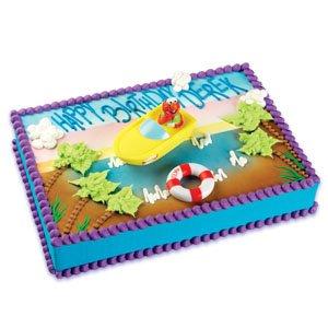Amazon.com: Sesame Street Elmo Boating Cake Decorating Kit ...
