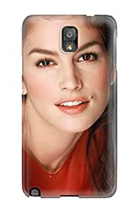JAxIyxU3849QeAvs Faddish Cindy Crawford Smile Case Cover For Galaxy Note 3