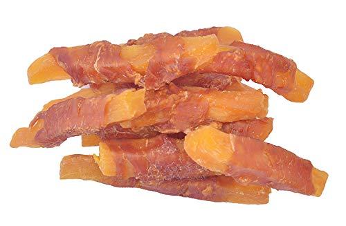 (Pawant Puppy Training Snacks Dog Chews Treats Chicken Wrapped Sweet Potato Strips 0.5lb/227g)