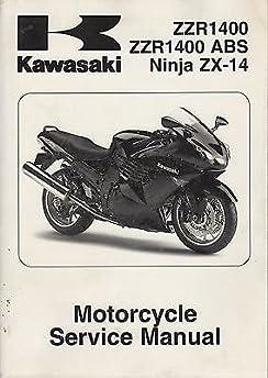 2013 kawasaki motorcyce ninja 300 abs service manual p n 99924 1460 rh amazon com Ninja 300 ABS 2014 Ninja 300