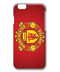 iphone 6 plus 3D TPU black case,Manchester United case for iphone 6 plus 3D