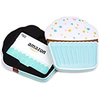 Amazon.ca Gift Card in a Birthday Cupcake Tin (Birthday Cupcake Card Design)