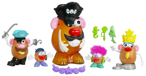Hasbro Playskool Mr. Potato Head Pirate Kit Mrs Potato Head Kit