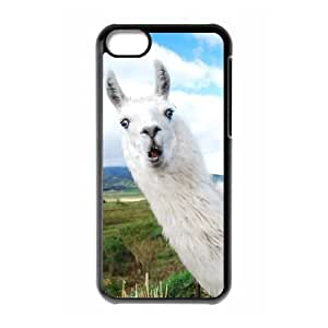 Customized Alpaca Cell Phone Case for Iphone 5C with The surprise of Alpaca _4190923