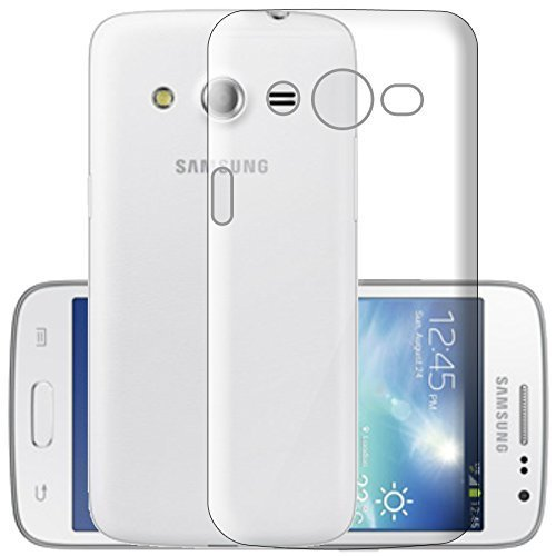 newest 5c6ff 53ac5 ECellStreet® Silicone Soft Back Cover for Samsung Galaxy Grand Neo Plus  i9082 / i9060 (Transparent)