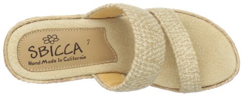 Natural Sbicca Sandal Women's Vibe Wedge 1HHxIRqP