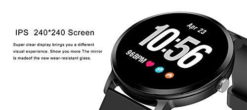 JingJingQi Reloj Inteligente V11 Monitor de Ritmo cardíaco Reloj ...