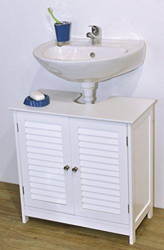 Evideco 9900307 Bath Under Sink Storage Vanity Cabinet