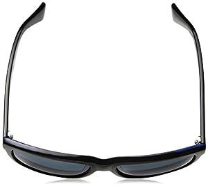 Cole Haan Men's Ch6005s Rectangular Sunglasses, Black, 58 mm