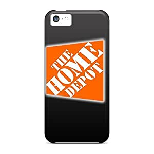 LJF phone case Faddish Phone Home Depot Logo Dark Case For Iphone 5c / Perfect Case Cover