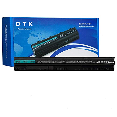 Dtk Laptop Battery M5Y1k Replacement for Dell Inspiron 14 3000 N3451 3551 5000/15 3000 3458 3451 5458/15 3000 5451 5455 3558 5551 5555 5558 5758 ; Vostro 3458 3558 [14.8V 2400MAH]